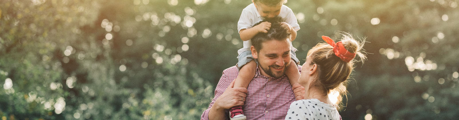 Family outside