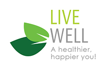 Live Well - a healthier happier you logo