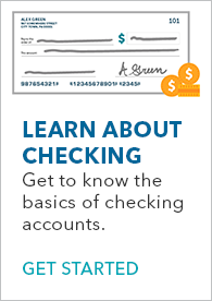 Learn about checking banner