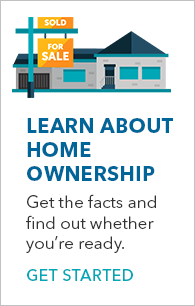 Learn about home ownership banner
