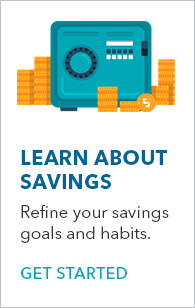 Learn about savings banner