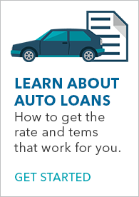 Learn about auto loans banner