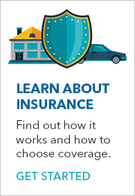 Learn about insurance banner