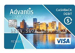 Cashback debit card